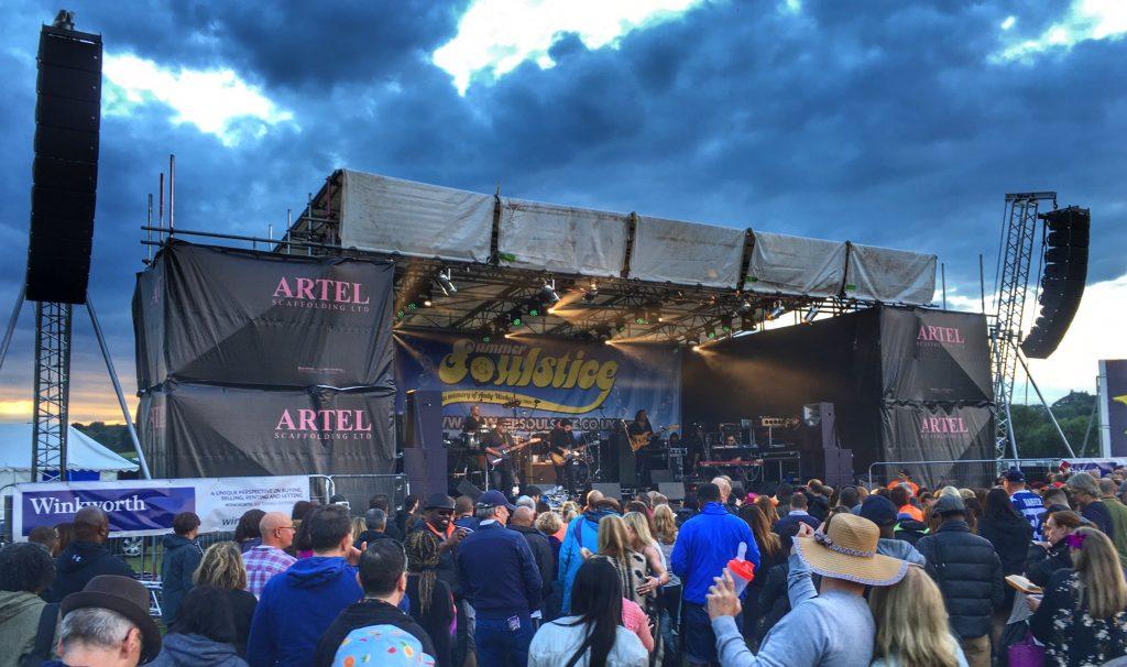 Incognito Live Stage