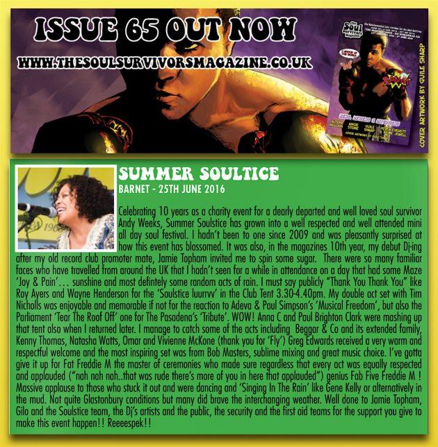 Soul Survivors SS10 Review