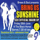 BRING US SUNSHINE: The Official SS9 Warm up