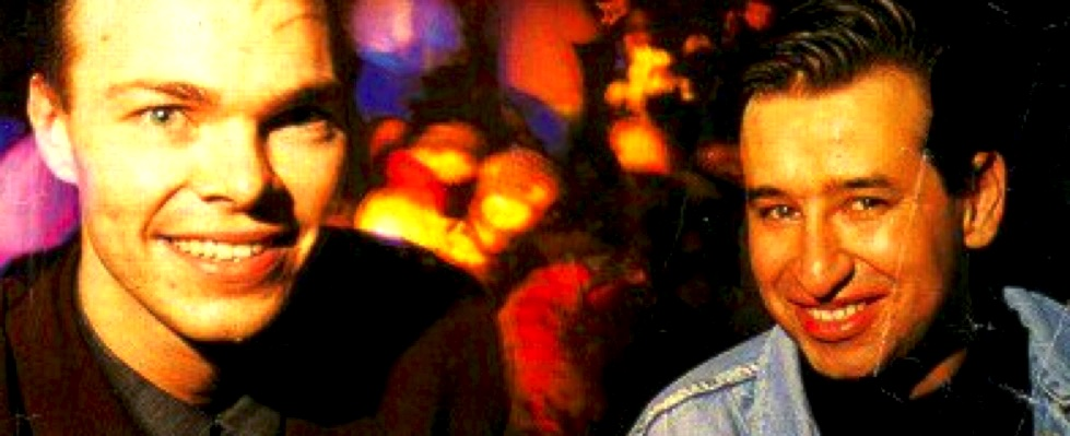 Back in the day: Pete Tong with Nicky