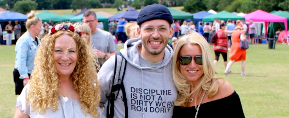 Young Pulse and friends at Summer Soulstice 2017. Photo by Jamie Topham © Summer Soulstice Ltd.