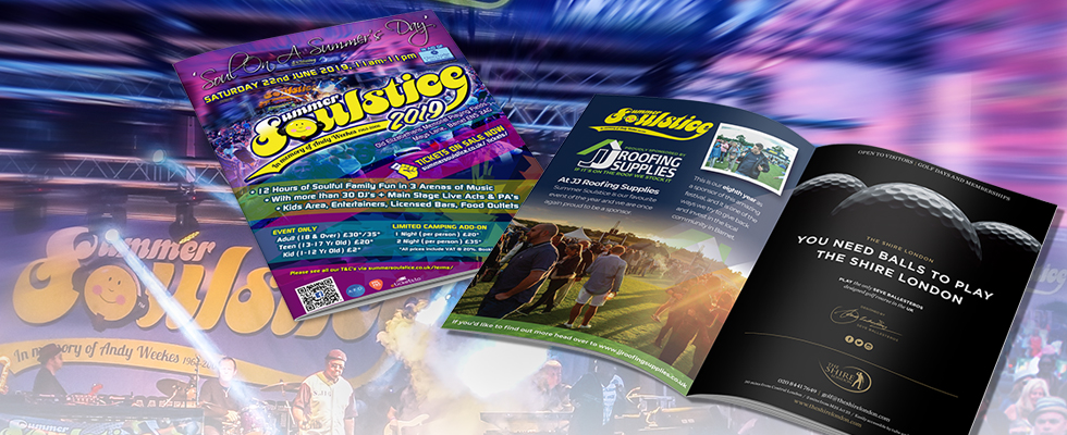 Summer Soulstice Event Brochure